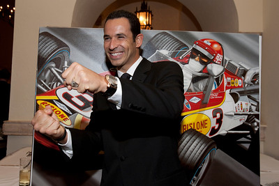 Helio Castroneves at the Boys & Girls Club Gala 2011