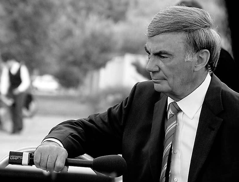 Sam Donaldson Looking Pensive