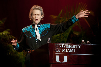 Temple Grandin, Professor of Animal Science 2013