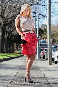 Melbourne Fashion Shoot. Model: Clare Jenkins. Stylist: Susan Young. Australia