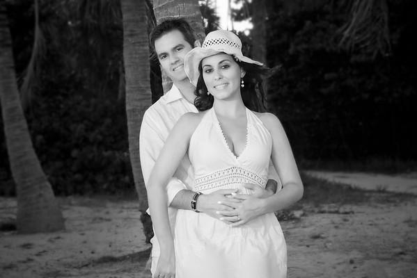 Beautiful couple on a beautiful Miami day.