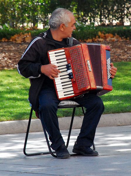Acordeon Artist, Madrid