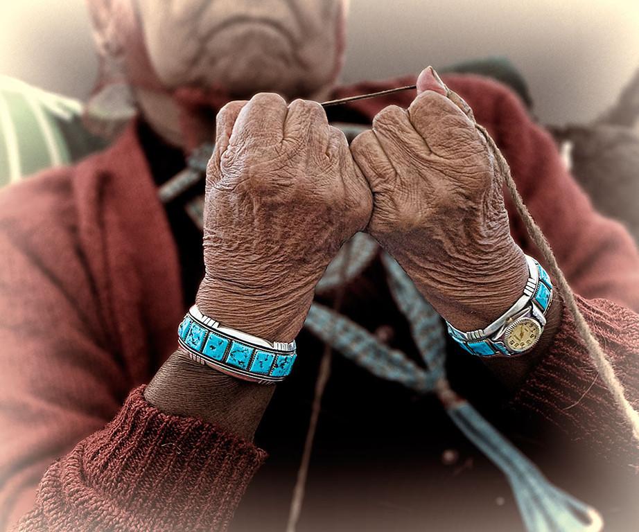 The Weaver's Hands