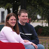 A carriage ride in the park.  I had it snow just for this photo shoot.  Seriously, this was shot in southern Oklahoma!