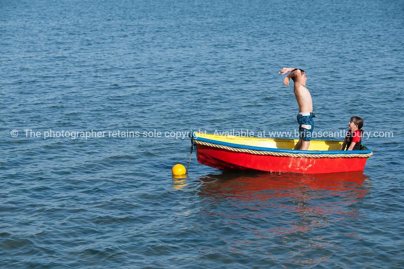 In the boat-28