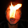Fire hot... don't try this at home. This is a self portrait where I was trying to find a balance between extreme highlights and shadows, Fun nonetheless.