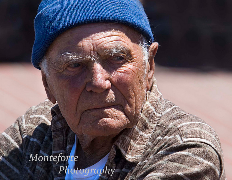 Old Fisherman, Monterey Ca.