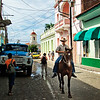 Cuban cowboy in Trinidad.