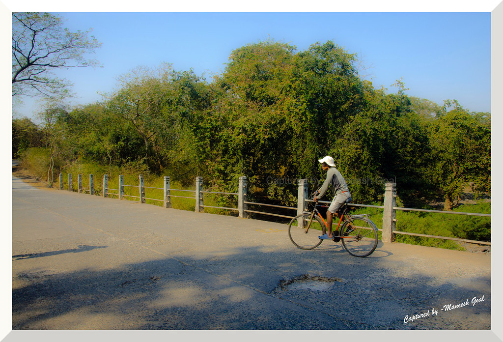 It is the unknown around the corner that turns my wheels - Heinz Stucke | Sanjay Gandhi National Park, Mumbai