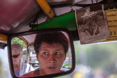 Tuk-Tuk Driver - Bangkok 2012
