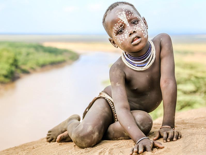 Karo Boy - Omo Valley, Ethiopia