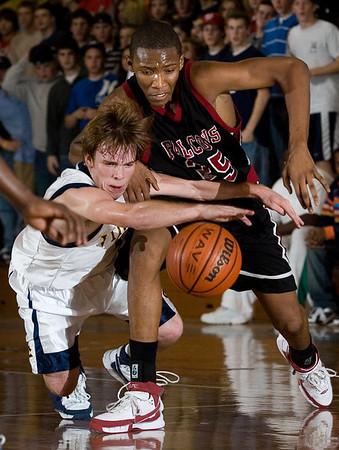 High school basketball.