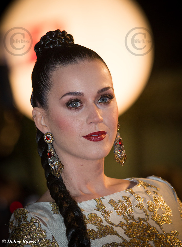 Katy Perry attends the 15th NRJ Music Awards at Palis des Festivals on December 14, 2013 in Cannes, France