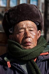 Naxi Man, Lijiang Old Town, Yunnan
