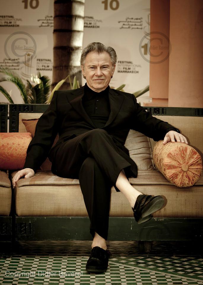 *legende* 10 ieme Festival International du Film de Marrakech. Photocall de Harvey Keitel