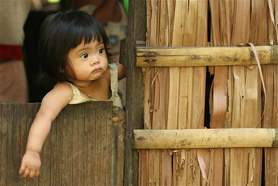Rijstkorrels, de Filipijnen.