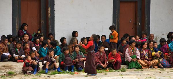Gangtey Dzong     Phobjikha Valley, Bhutan