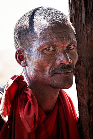 Villager in Kenya Copyright 2021 Steve Leimberg UnSeenImages Com _DSC2986