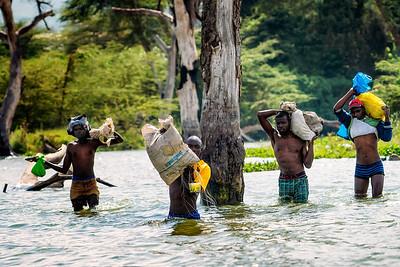 Fording River Kenya Copyright 2020 Steve Leimberg UnSeenImages Com _DSC2210