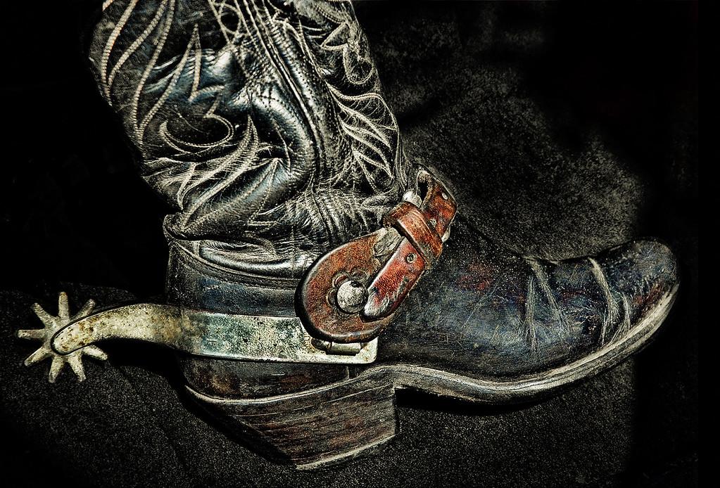 Faye Brown's Boot
