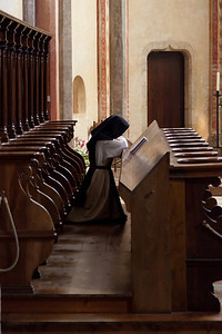 Nun at Prayer