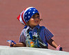 Boy at 4th of July parade, Monterey Ca.