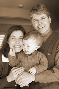 Toni & James Istvanffy with their son John