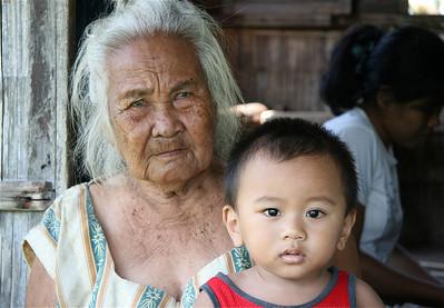 Generaties. Siquijor Island, de Filipijnen.