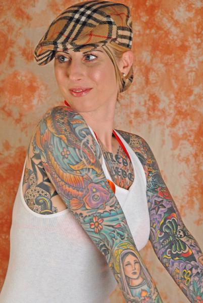 Tatoo Girl - Phildelphia Studio Shoot