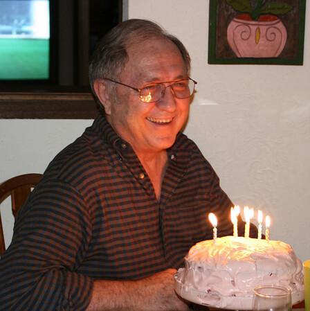 Bernard on his 65th birthday.