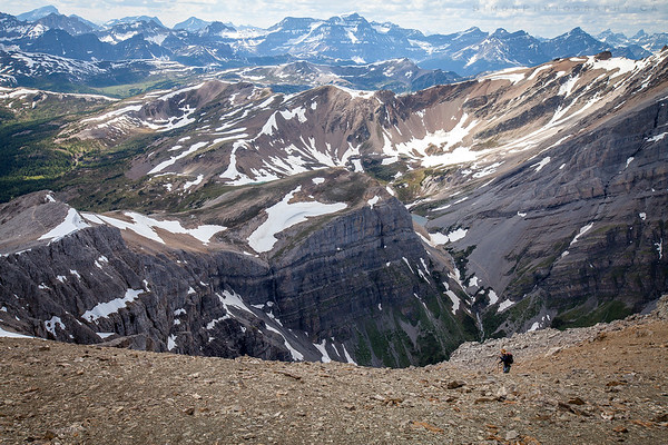 The Summit of Mt.Borgeau