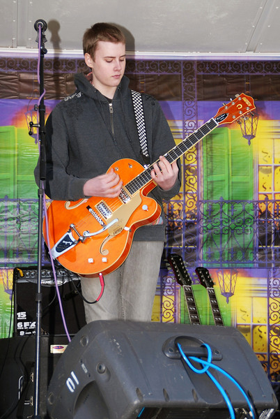 Josh and his Gretsch