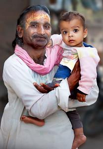 Mathura Father & Child