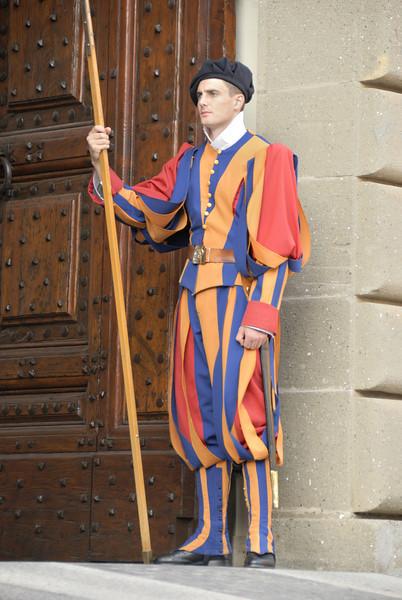 Swiss Guard - Castel Gandolfo (Pope's Summer Palace)