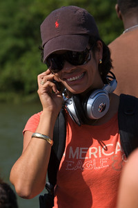 Media covered event of La Rutay Maya River Challenge, 2008, Iguana Creek Bridge, Cayo, Belize.