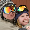 Steve and Nichole at Snow Bowl