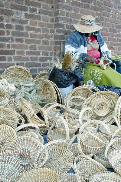 Sweet Grass Basket Weaver 1