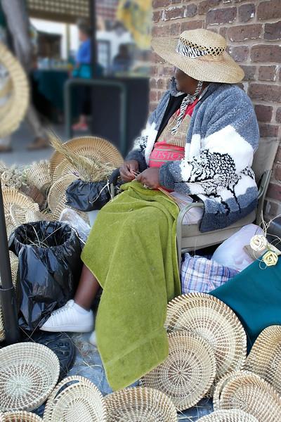 Sweet Grass Basket Weaver 2