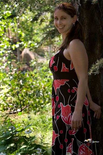 Anael in the Garden