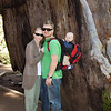Family Portrait at Big Trees State Park