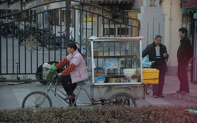 Snack wagon Beijing 2009
