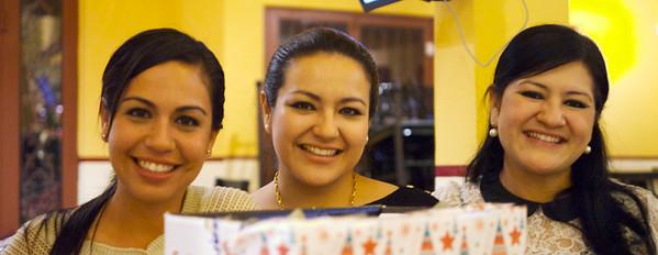 Mazatlán December 2012  Mariam, Alma's sister, Dzodra and Alma.