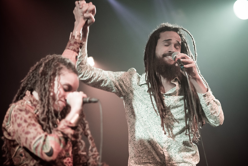 Kelissa and Keznamdi - Chronixx and the Zincfest Redemption - The Independent SF Feb. 2015