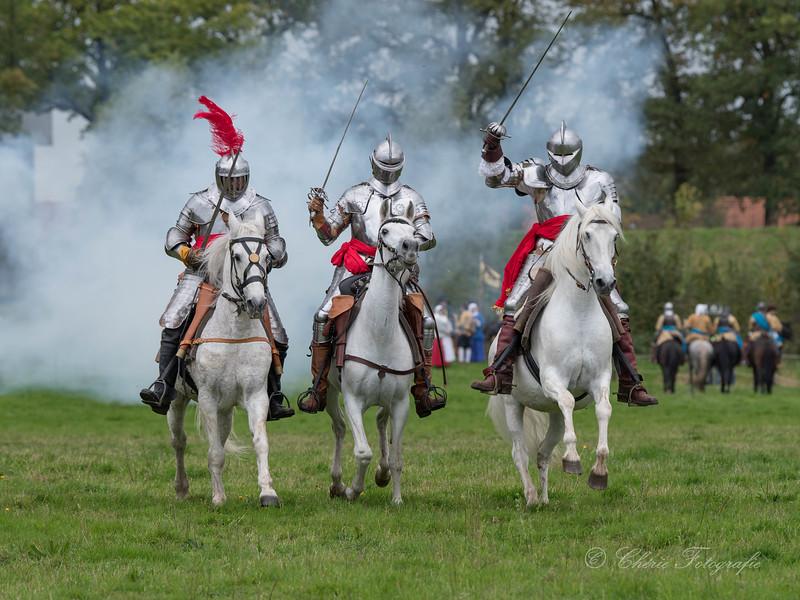 De Staatse cavalerie trekt ten strijde