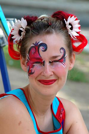 Quebec street performer
