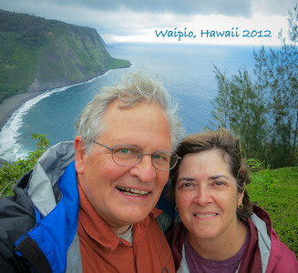 Last day of our Hawaiian trip in Waipio, Hawaii before flying out the next morning.