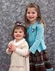 Big Sister, Kate, with little sister, Kara. Christmas 2012.