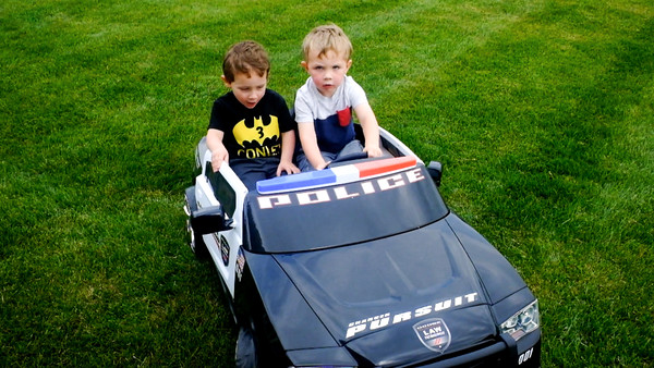 Video: Conley and Easton Play Police