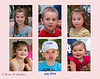 L-R, Top Row: Kate, Eli, and Sarina<br /> L-R, Bottom Row: Kara, Maxwell, and Alexandra