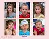 L-R, Top Row: Kate, Eli, and Sarina<br /> L-R, Bottom Row: Kara, Maxwell, and Alexandra